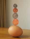 magnadur magnet enabled balancing egg 02 robin linhope willson magic penny