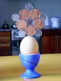 magnadur ferrite block magnet balancing egg 05  robin linhope willson magic penny
